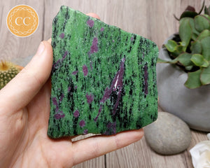 Ruby In Zoisite Slice #5