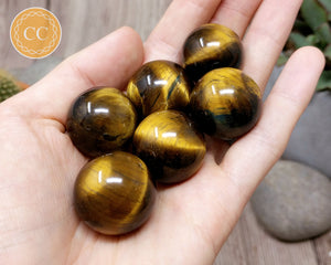 Tigers Eye Sphere 25mm