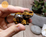 Tigers Eye Elephant