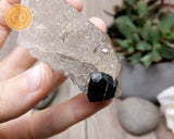 Black Tourmaline in Quartz #17