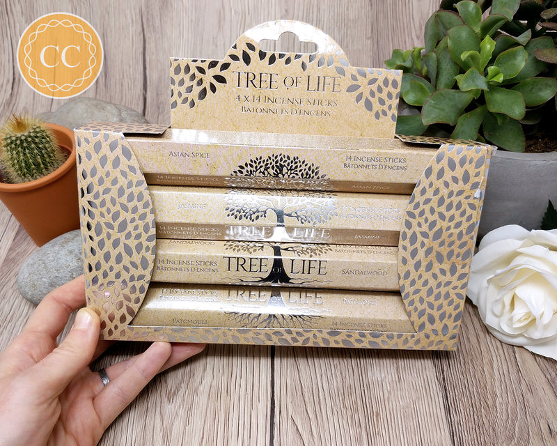 Tree of Life Incense Sticks Set