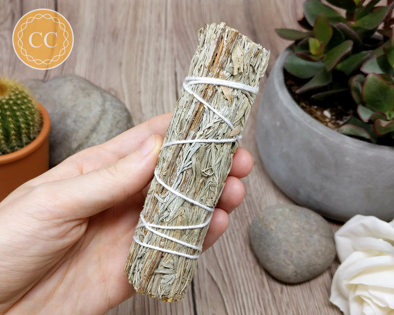 White Sage & Blue Sage Stick