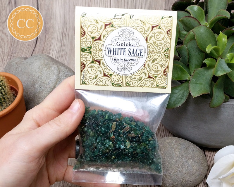 White Sage Resin Incense