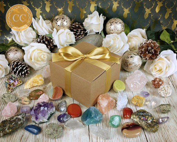 Christmas Crystal Gift Box