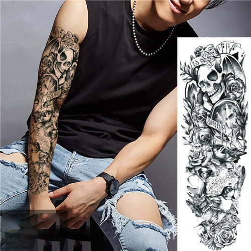 a14ded8b3 Waterproof Temporary Sleeve Arm Tattoo – DEACONBUY
