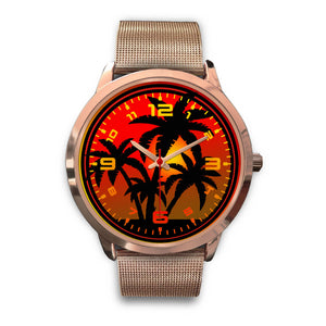 Island Good Vibes - Premium Rose Gold Watch