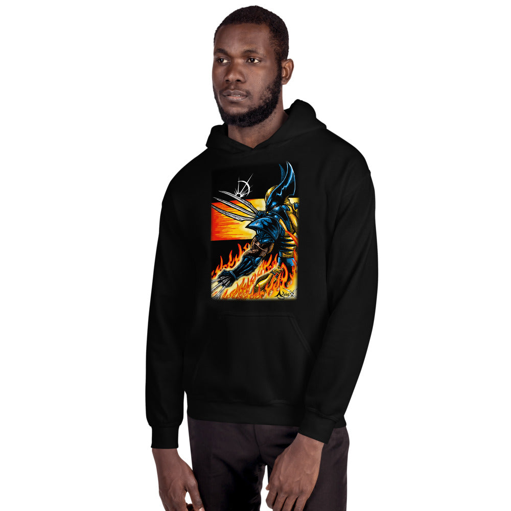 Blades and Fire - Unisex Hoodie