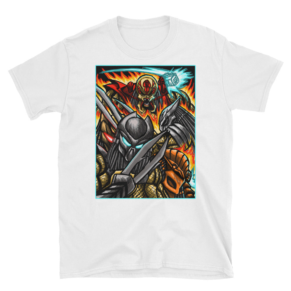 The hunt is on - Short-Sleeve Unisex T-Shirt
