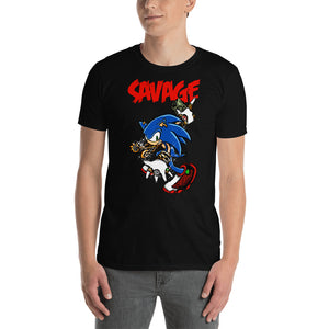 Savage Hedgehog Ver 2 - Premium High Quality Unisex T-Shirt