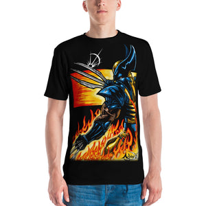 Blades and Fire - All Over Print T-shirt