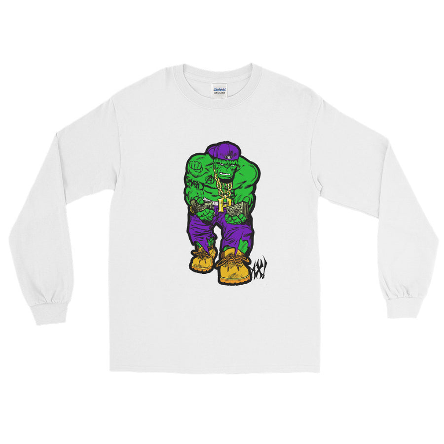 Green Hustler Test - Long Sleeve T-Shirt