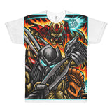 The hunt is on - All over print Short sleeve men's t-shirt