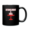 Entanglement and Chill - Full Color Mug - black