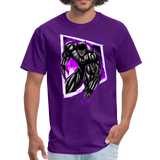 Astral Panther - Unisex Classic T-Shirt - purple