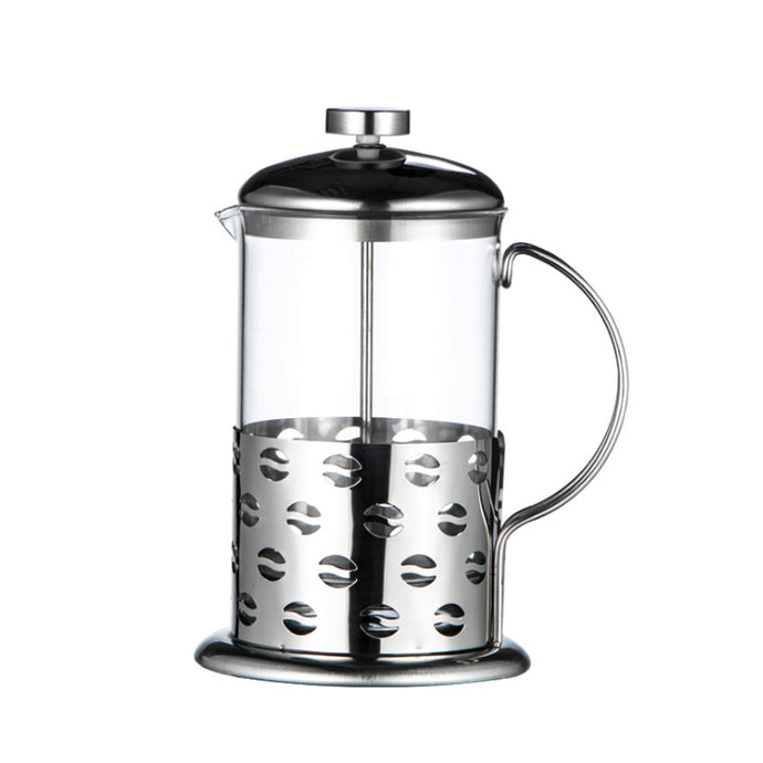 350ML Stainless Steel Glass French Press Coffee Cup 60 PCS/Carton -- iTOP Coffee
