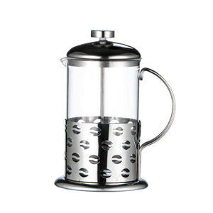 1000ML Stainless Steel Glass French Press Coffee Cup 24 PCS/Carton -- iTOP Coffee