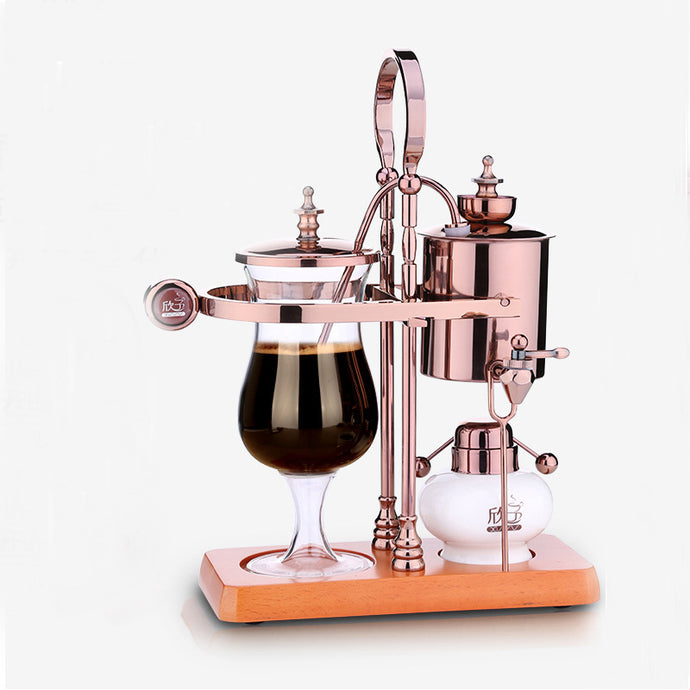 Balancing siphon coffee machine/belgium coffee maker syphon 4 PCS -- iTOP Coffee