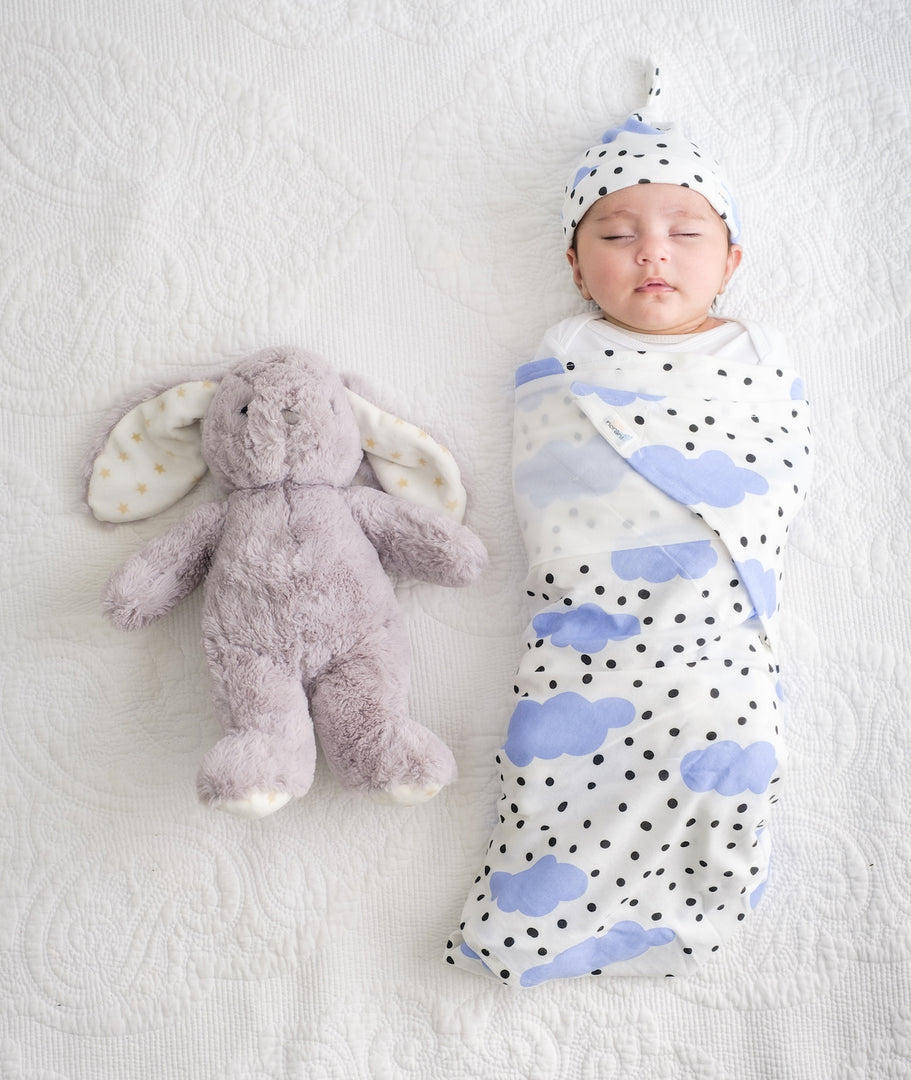 How to Swaddle Using the DUDU Method