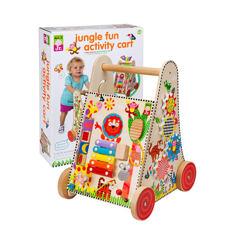 ALEX Toys ALEX Jr. Jungle Fun Activity Cart