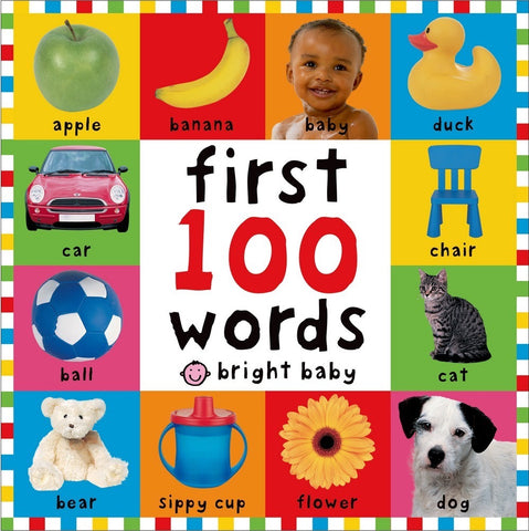 First 100 Words Children's Book