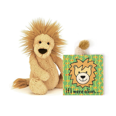 Jellycat If I Were A Lion Children's Book