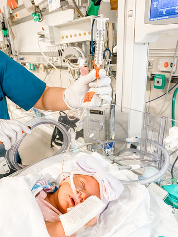 Baby Feeding Tube NICU