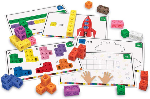 Learning Resources Early Math Mathlink Cube Activity Set