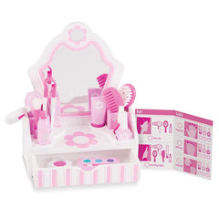 Melissa & Doug Wooden Beauty Salon Play Set