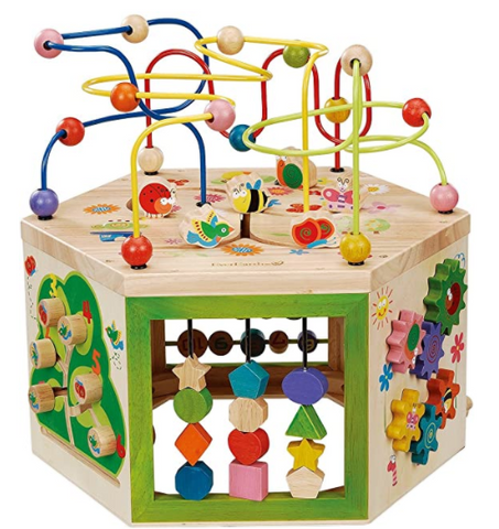 Toddler Wooden Activity Center