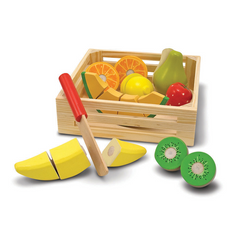 Wooden Veggie Set