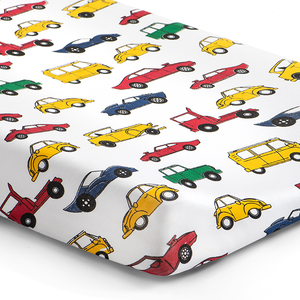 '405 at 5' Cars Changing Pad Cover
