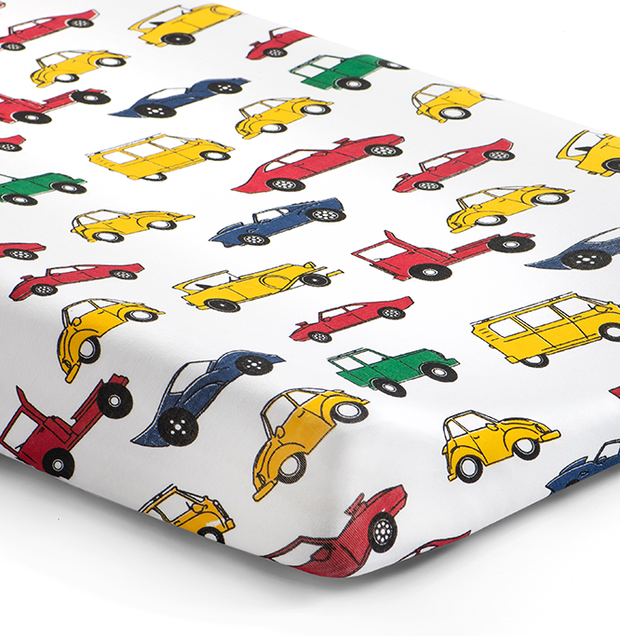 '405 at 5' Cars Changing Pad Cover 1