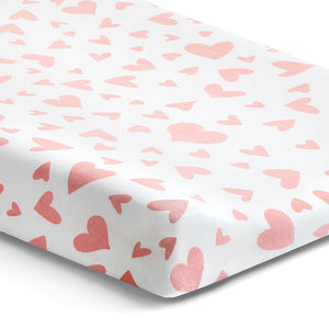 'I Heart You' Changing Pad Cover