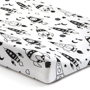 'Out of This World' Rockets Changing Pad Cover