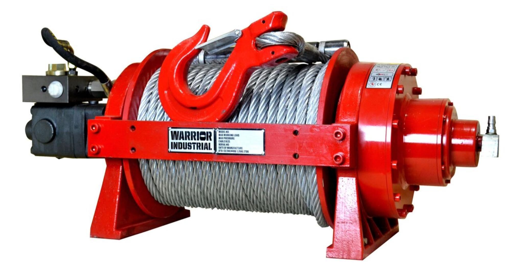22,000 LB JP Series Hydraulic Winch - 10 TJP