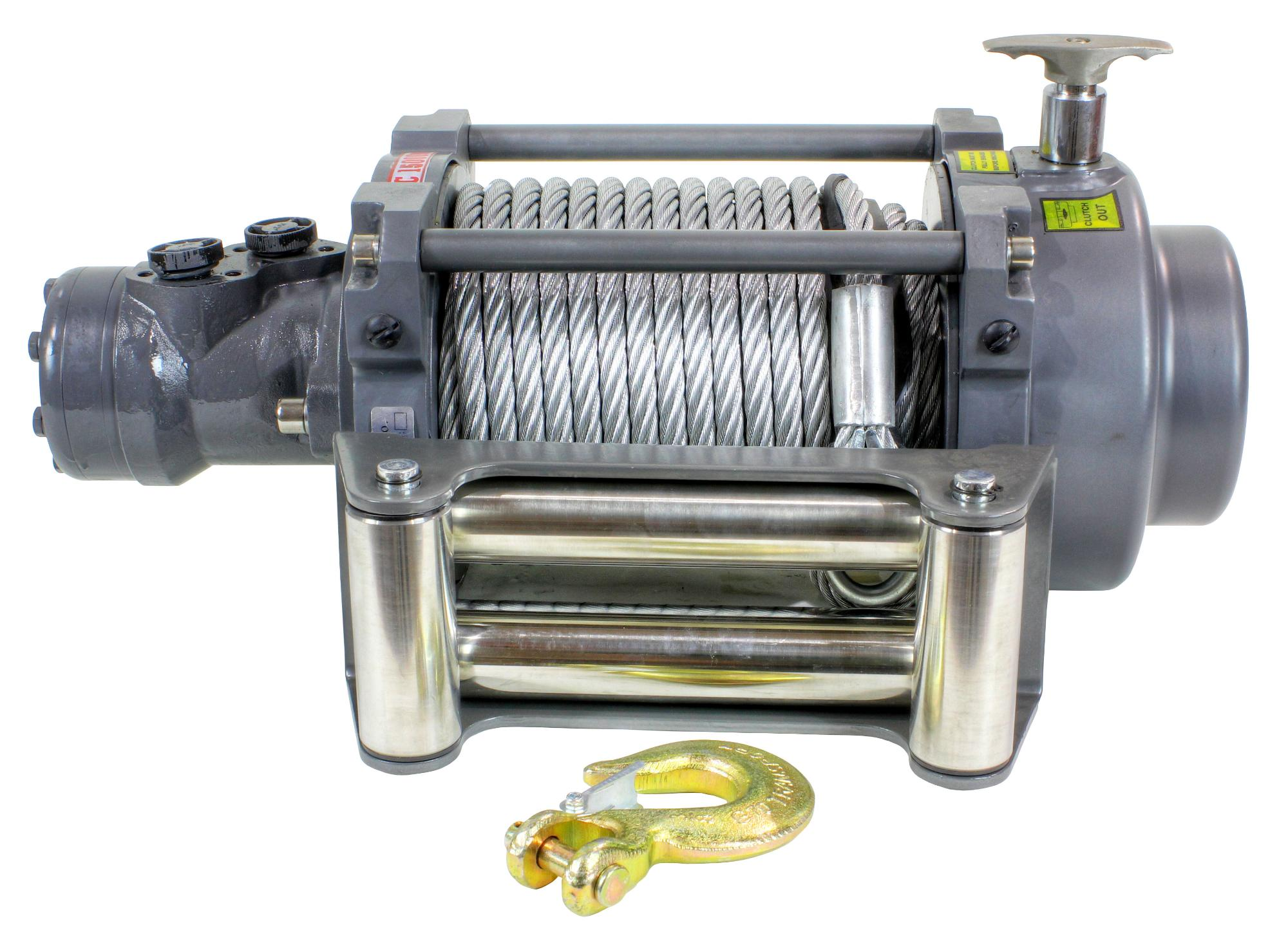 15,000 LB NH Series Hydraulic Winch - 15000NH
