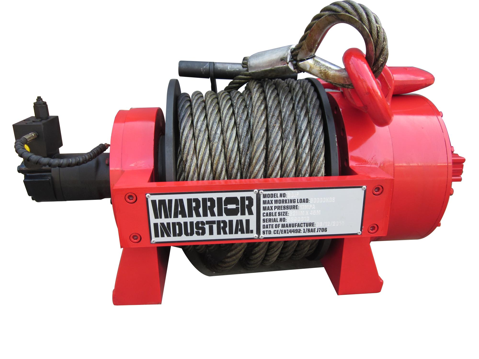 66,138 LB JP Series Hydraulic Winch - 30 TJP