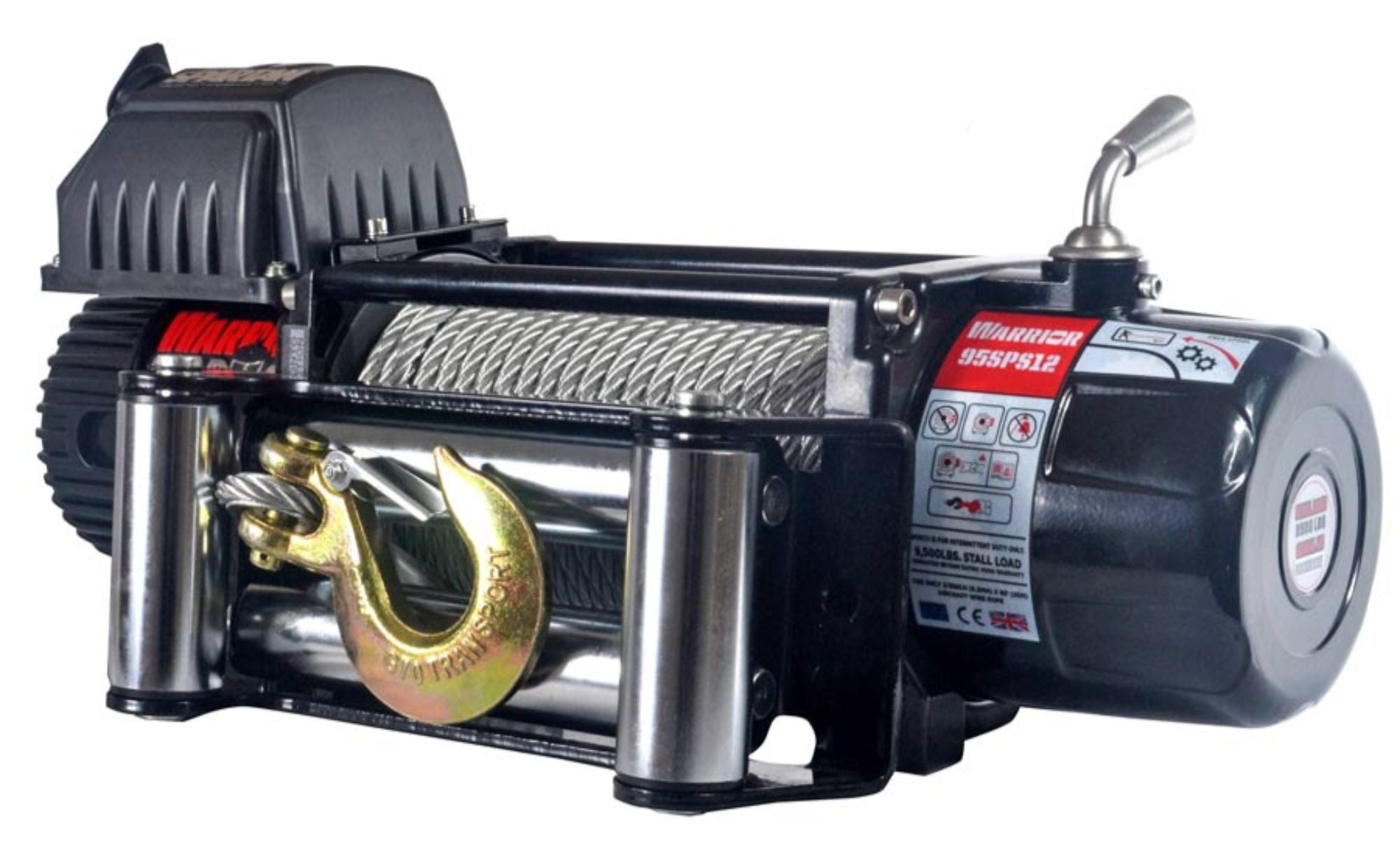 9,500 LB Spartan Series Planetary Gear Winch - 9500