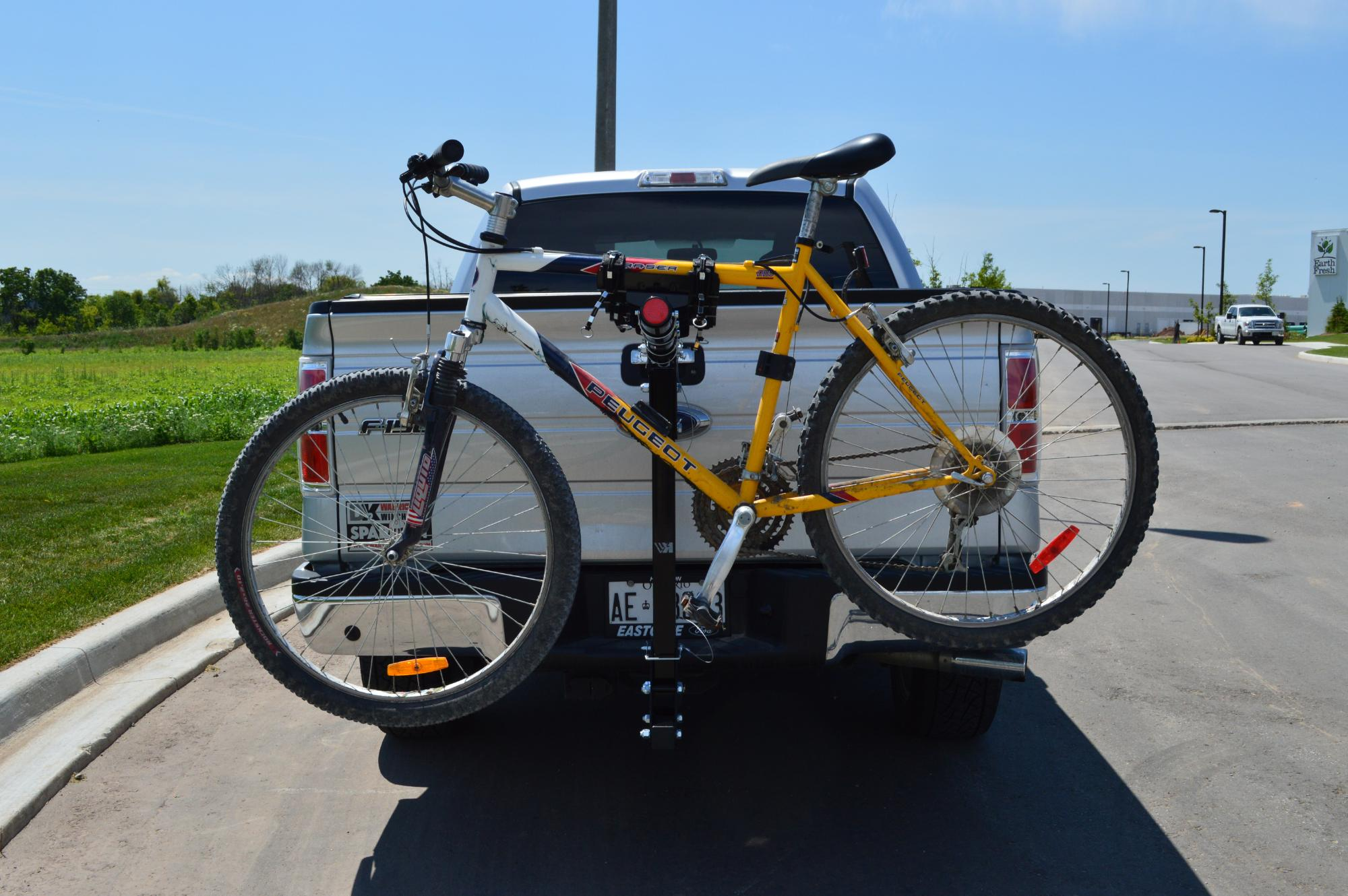 Hitch Mounted Bicycle Carrier - BCR490