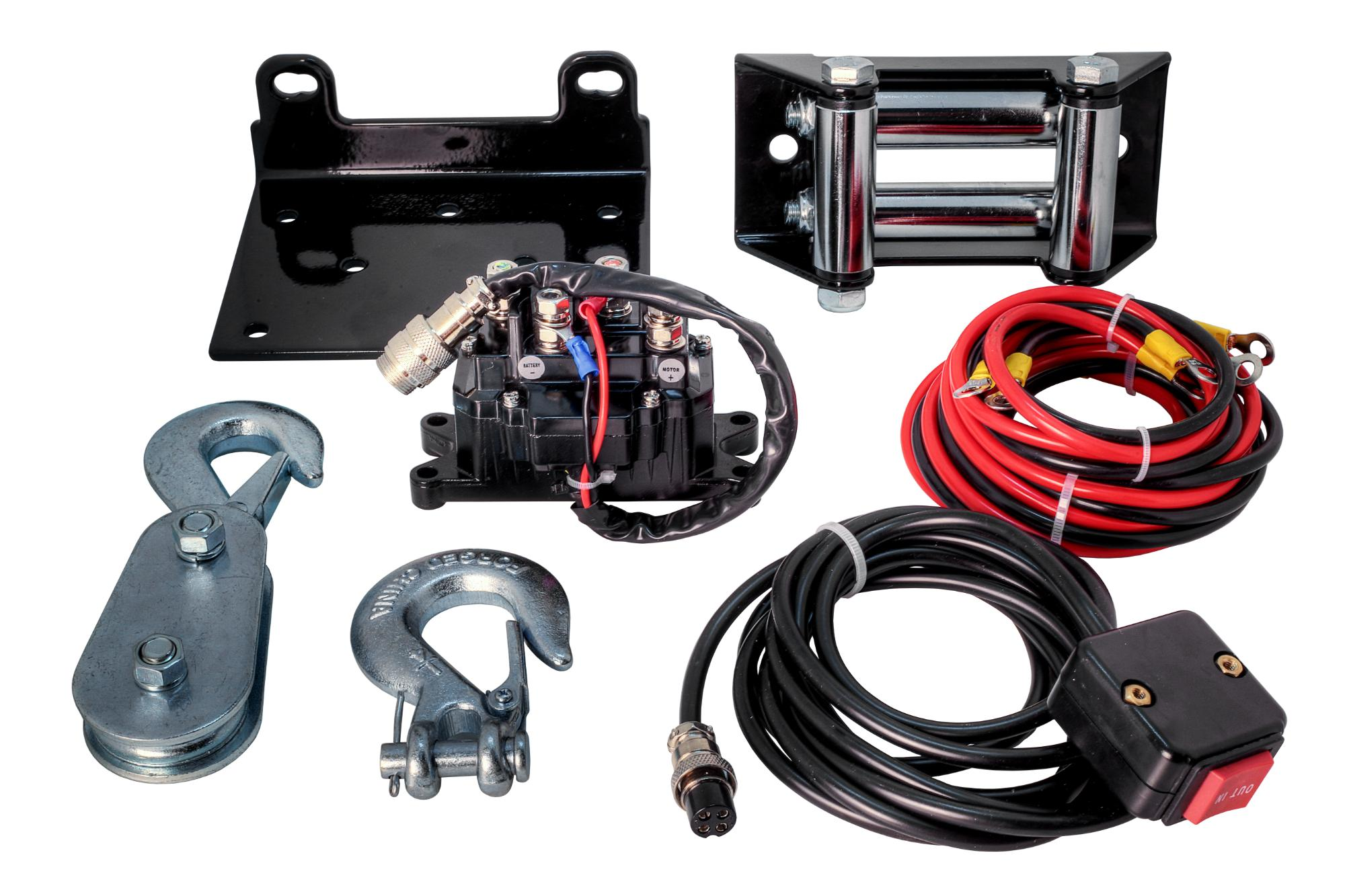 2,500 LB Ninja Series Planetary gear Winch with Synthetic Rope - C2500N-SR