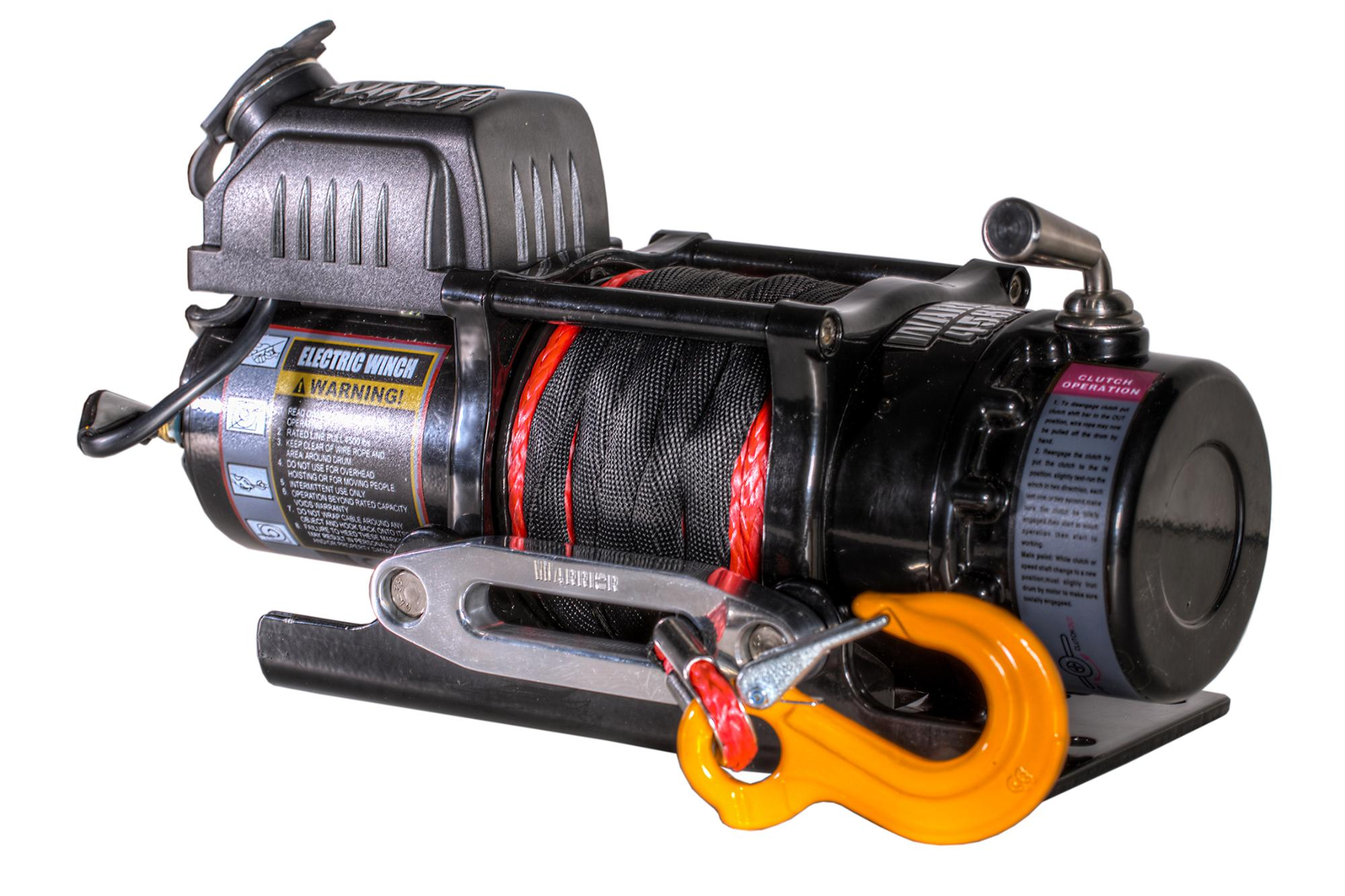 4,500 LB Ninja Series Planetary gear Winch with Synthetic Rope - C4500N-SR