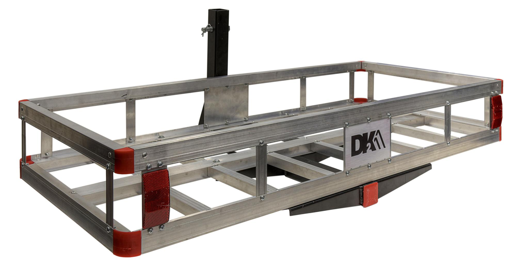 Hitch Mounted Aluminum Cargo Carrier - HCC502A