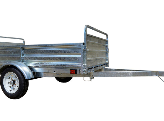 5ft x 7ft Multi Purpose Utility Trailer Kits - Galvanized - MMT5X7G