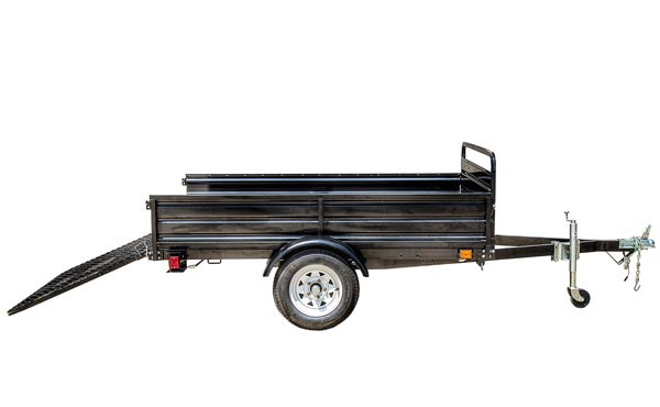 5ft x 7ft Multi Purpose Utility Trailer Kits - Powder coated with DRIVE UP GATE- MMT5X7