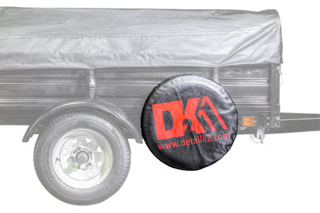 "Trailer Spare tire kit - 5.3"" x 12"" DOT TIRE & cover"
