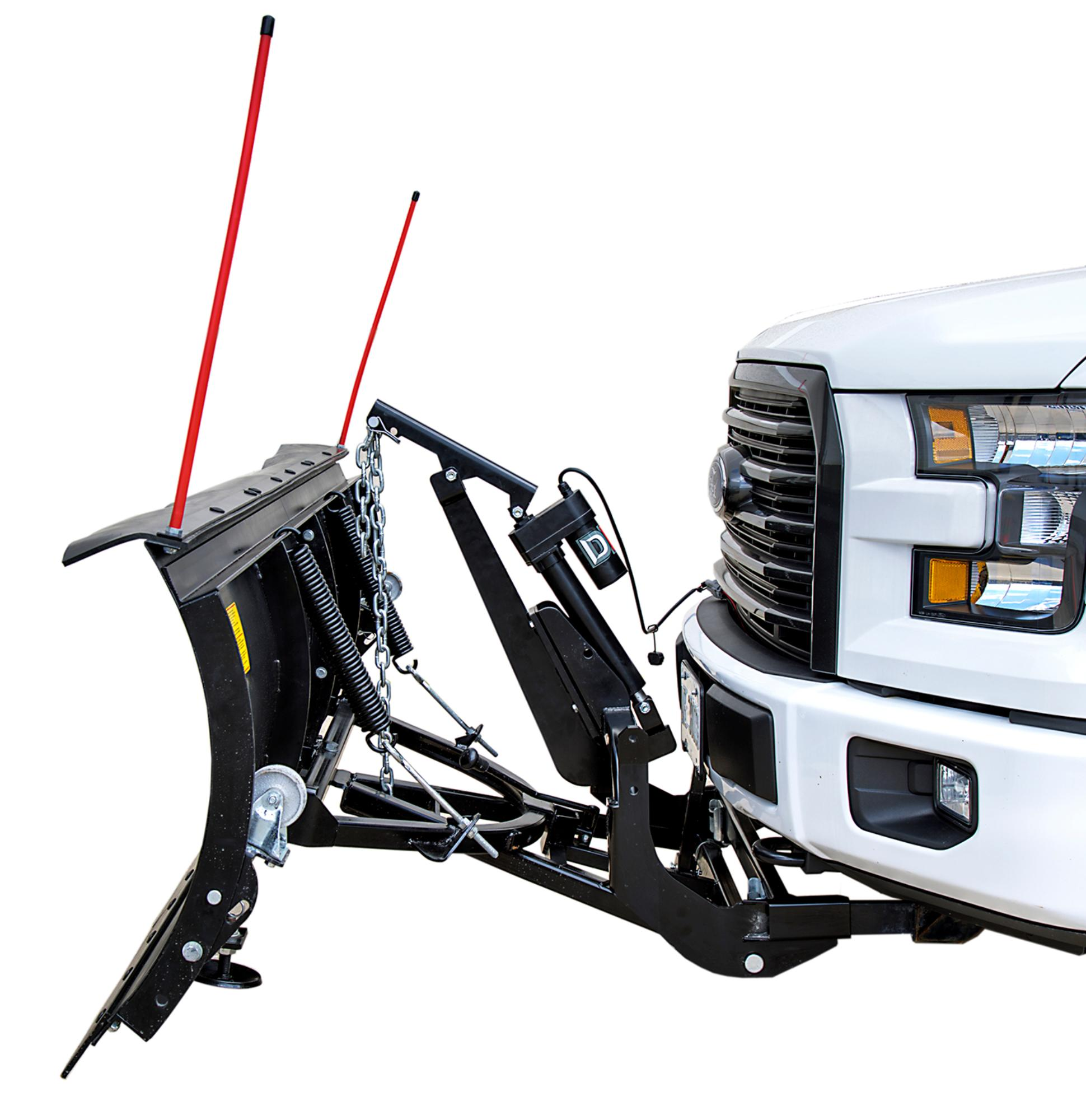 Summit II ELITE 88 x 26 Custom Mount Snow Plow Kit - ACTUATOR