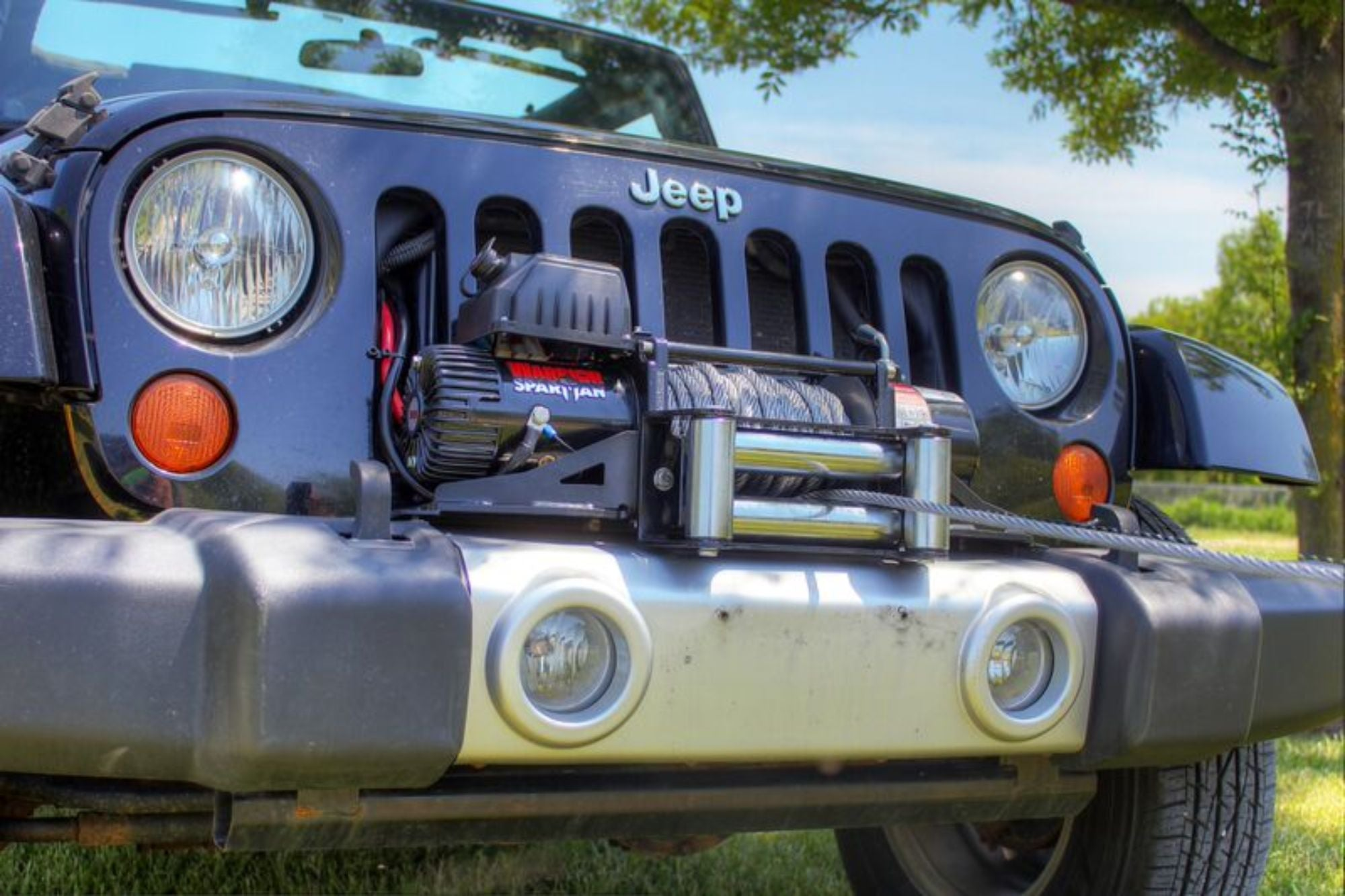8,000 LB Samurai Series Winch - S20000