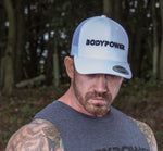 BodyPower Trucker Cap - White/Black