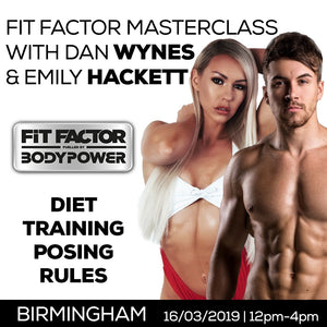 FitFactor MasterClass (Bham 16th March)
