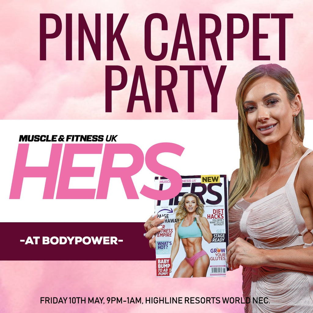 Muscle & Fitness HERS Pink Carpet Party